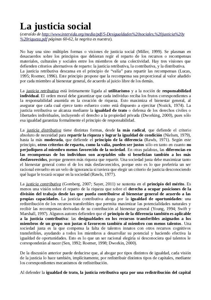La justicia social(extraído de http://www.intervida.org/media/pdf/5-Desigualdades%20sociales,%20justicia%20y%20riqueza.pdf...
