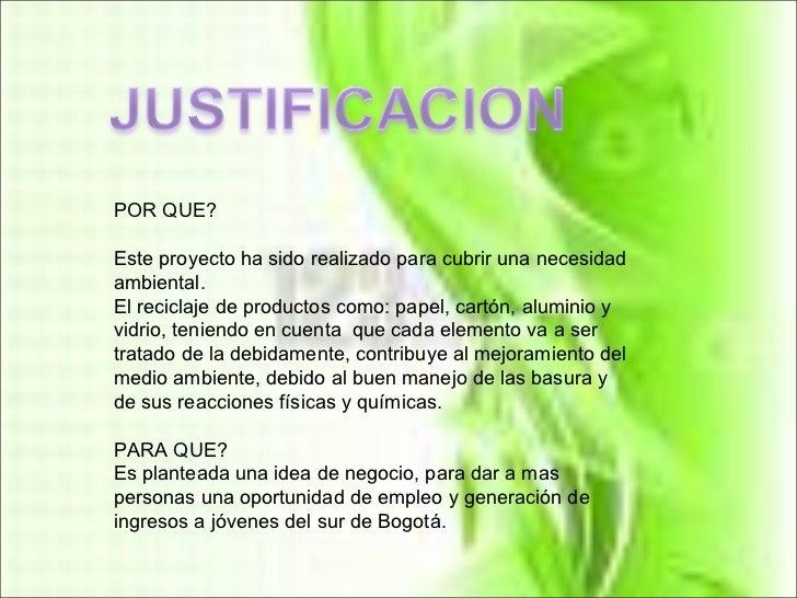 Justificacion Del Proyecto[1]
