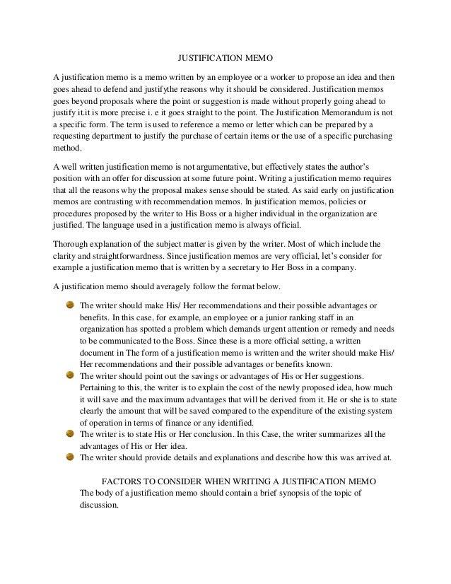 memorandum report sample - Vatoz.atozdevelopment.co