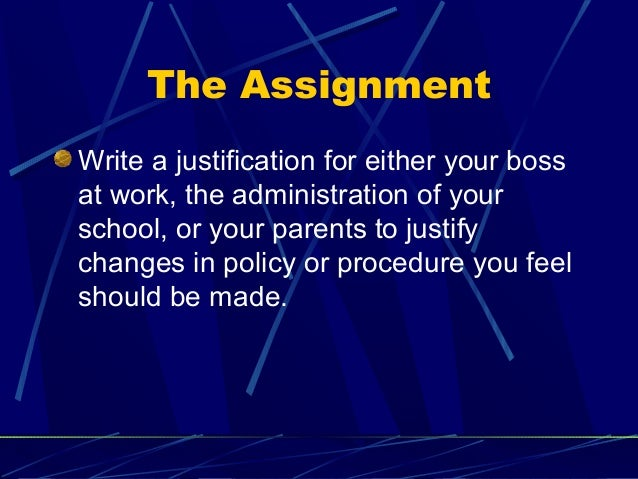 justification report sample essay How to write a justification report  write a discussion essay write limitations in a report  write an affidavit sample 3.