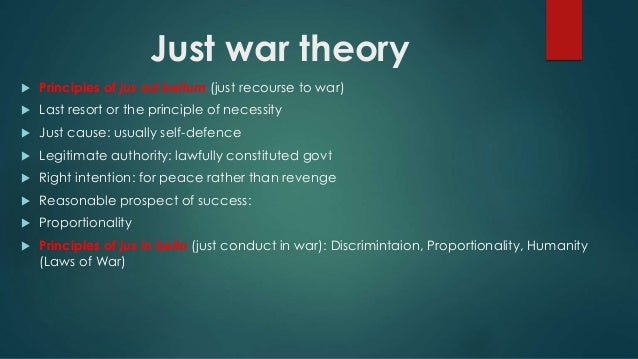 just war theories in the west The just war theory provides a basis for laws of war - not because war is good but because it must be restricted and brought more and more under control, even while we work for its total abolition in fact, just war ideals shaped the geneva convention and other international agreements, as well as helping to shape army regulations in the.
