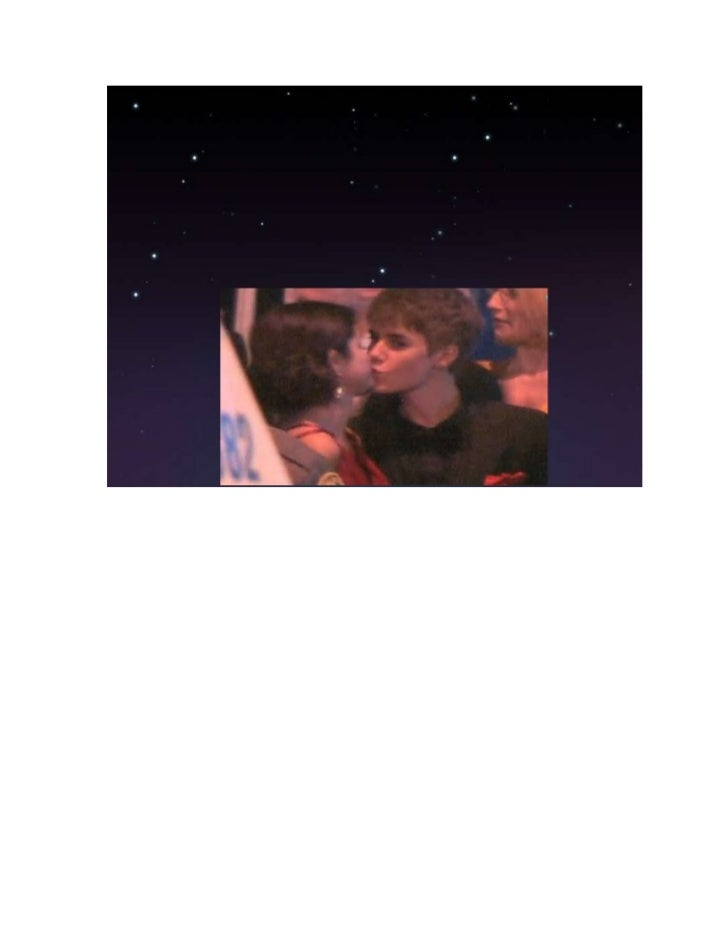Justin and selena document Slide 3