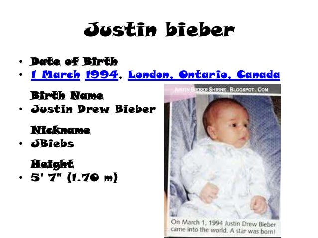 What Hospital Was Justin Bieber Born In And What Room