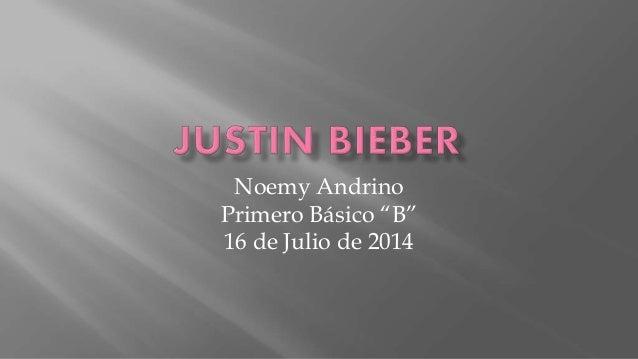 """Noemy Andrino Primero Básico """"B"""" 16 de Julio de 2014"""