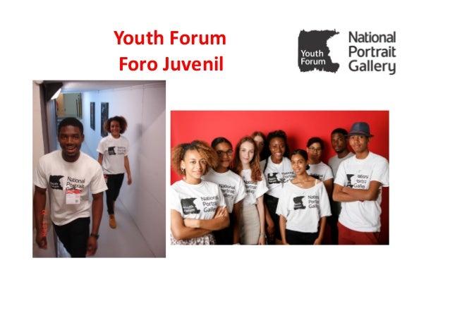 Youth Forum Foro Juvenil