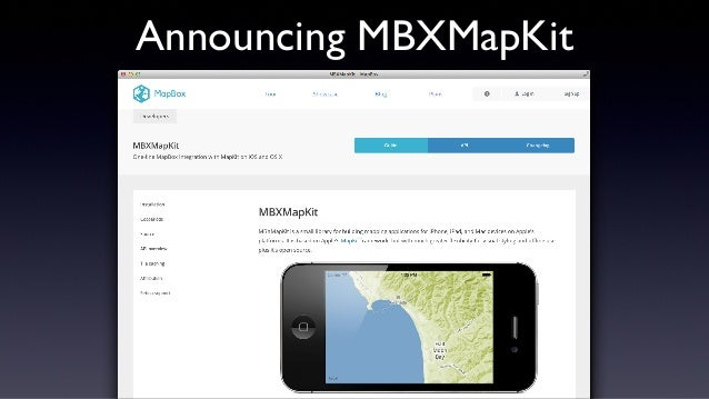Open Mapping on iOS