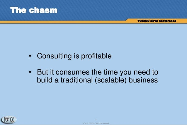 Solving the Professional Services Dilemma Slide 3