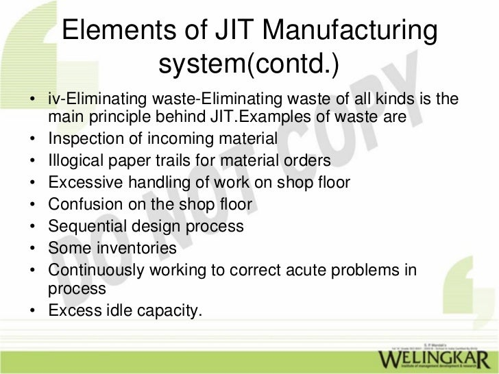 just in time method Consequently, this approach requires much more frequent delivery of stocks developing a jit approach requires sophisticated planning and considerable experience in this field this is why leading companies contract out their supply chain management to a specialist company like exel with considerable experience of.