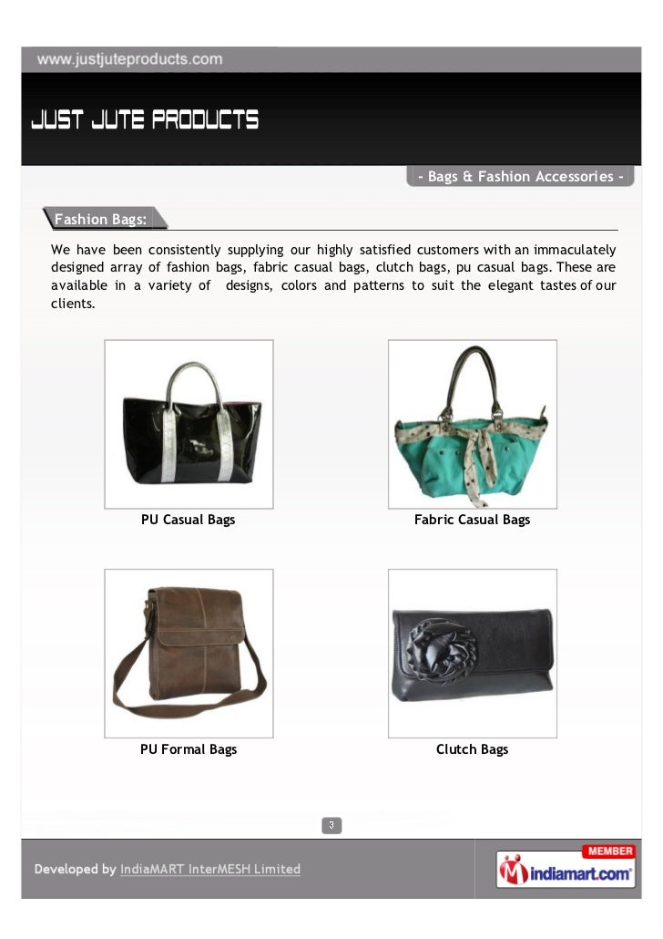 Just Jute Products, Bengaluru, Bags & Fashion Accessories Slide 3