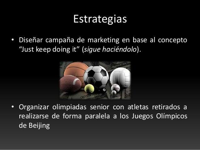 """Plan de Marketing para los 20 años de """"Just Do It"""" de Nike Slide 3"""