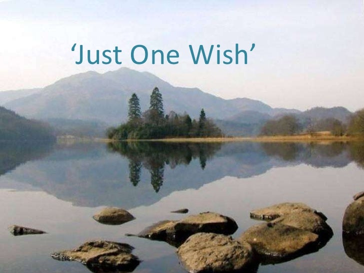 'Just One Wish' <br />
