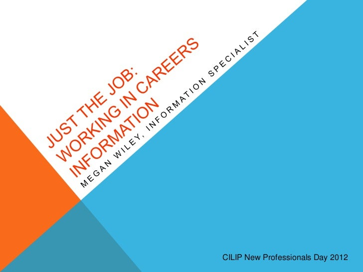 CILIP New Professionals Day 2012