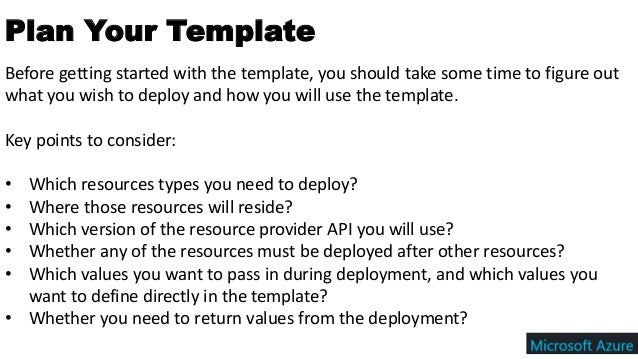 Azure Resource Manager (ARM) Template - A Beginner Guide for Develope…