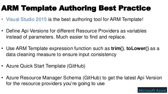 Azure Resource Manager Arm Template A Beginner Guide