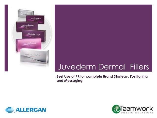 Juvederm brand public relations campaign