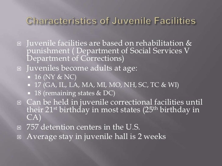 Juvenile corrections pp week 1