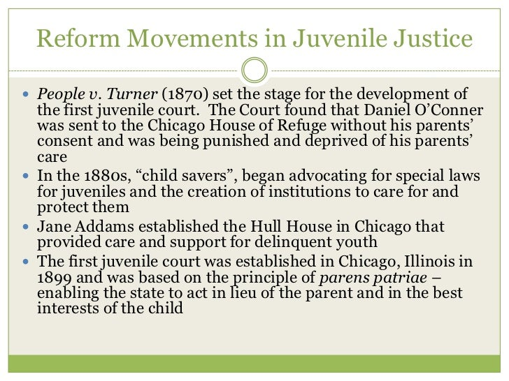juvenile justice reform Juvenile justice reform act of 2017  since 1974, the juvenile justice and delinquency prevention act has coordinated federal efforts aimed at supporting state juvenile justice systems with a focus on education and rehabilitation.