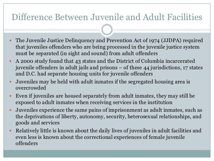 defining success for juvenile offenders With juvenile delinquency defined as a conflict in the life of a juvenile offender  and blockades is the only manner in which mediation can result in success.