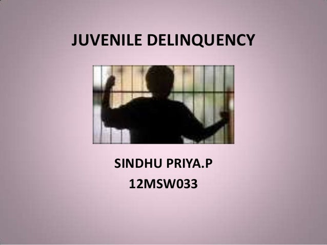 Juvenile delinquency and hooliganism