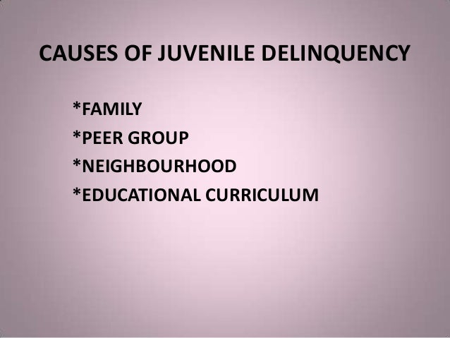 the causes and extent of juvenile delinquencies in society The effects of juvenile delinquency juvenile delinquency is a big problem in the united states, where 45,567 minors were incarcerated in residential facilities for juveniles in 2016 in fact, about 17% of all the people arrested in the united states are under the age of 18.
