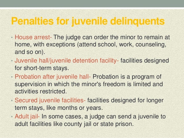 rationale of juvenile delinquency Juvenile delinquency is a relatively new concept that law enforcement and civilian organizations are attempting to understand and maintain control of.
