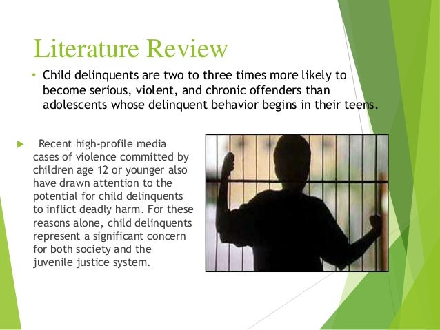 review involving correlated literary mastery with teenager delinquency