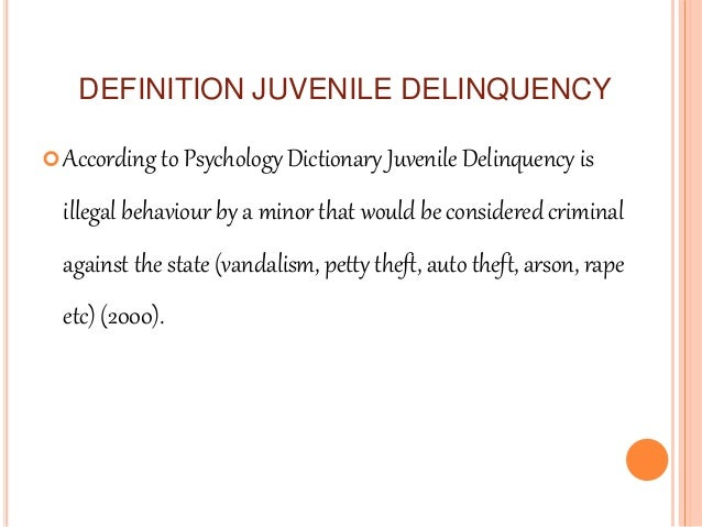 the societal implication of abolishing juvenile Write a 1,050- to 1,500-word paper comparing juvenile courts with adult courts include the following in your paper:the adjudication process by which a juvenile is.