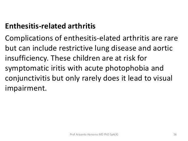 Juvenile idiopathic arthritis