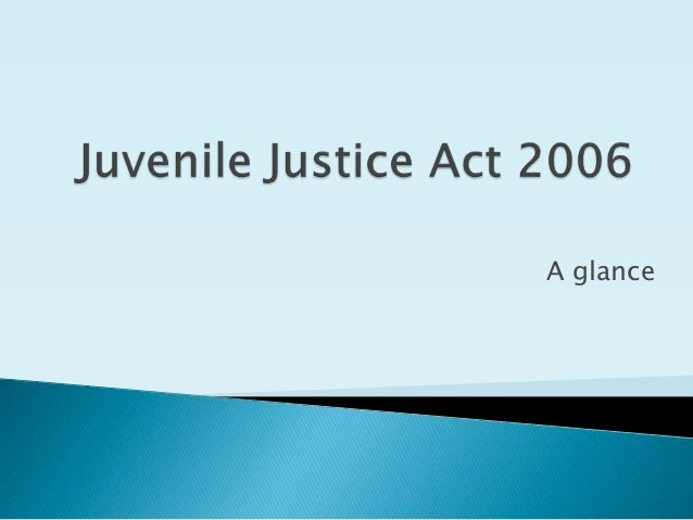 improvements in the juvenile justice process Restorative justice is a process that repairs the harm caused by criminal in juvenile justice, restorative justice has greatly court improvement.