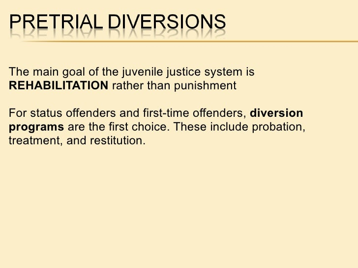 juvenile system Many youth who come into contact with the juvenile justice system have experienced academic failure, disengagement from.