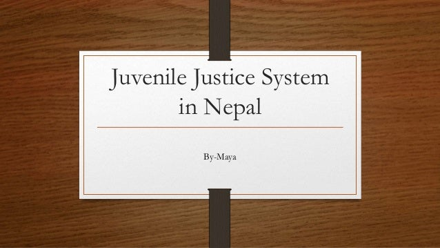 Rehabilitating the juvenile justice system