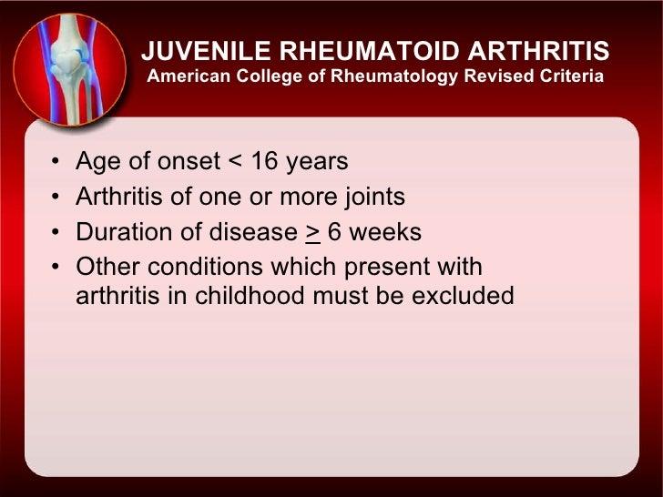 Juvenile+Rheumatoid+Arthritis+slides+