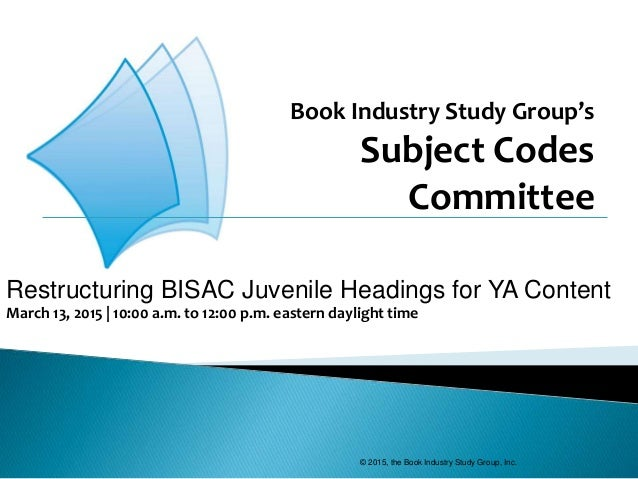 book industry study group report Us publishing industry annual survey reports $27 billion in bookstats is co-produced by the association of american publishers and the book industry study group.