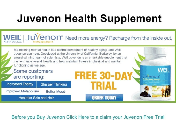 Juvenon Health Supplement   Before you Buy  Juvenon  Click Here to a claim your  Juvenon  Free Trial