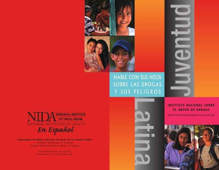 HablE con sus Hijos sobrE las Drogas Y sus PEligros                       Juventud       Latina                        Ins...