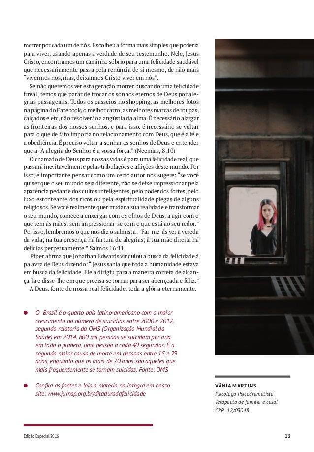 Juventude Pioneira | Ano v - Edição Especial 2016 - Janeiro