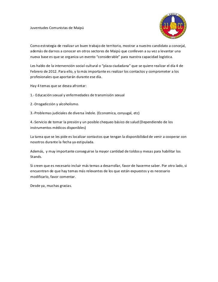 Juventudes Comunistas de MaipúComo estrategia de realizar un buen trabajo de territorio, mostrar a nuestro candidato a con...