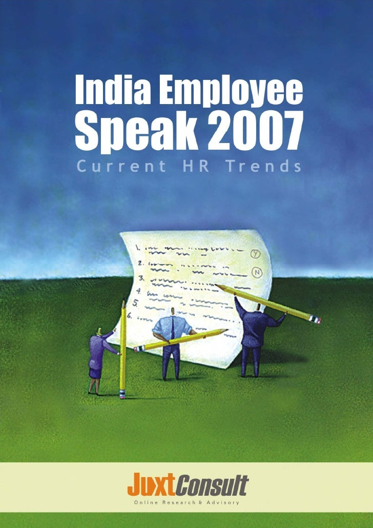 India Employee Speak 2007