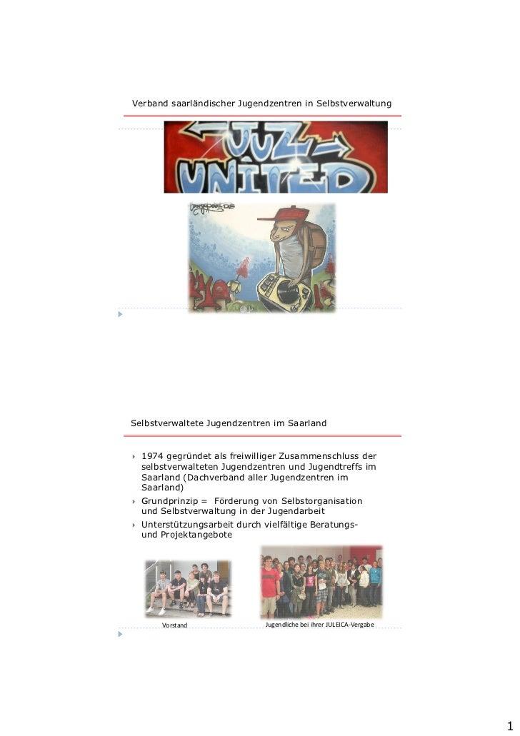 juz-united Mitgliederversammlung 2002Verband saarländischer Jugendzentren in SelbstverwaltungSelbstverwaltete Jugendzentre...