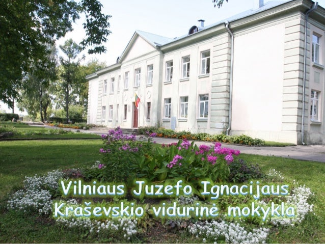 MOKYKLOS ISTORIJA  • 1951 metais iškilo senasis mokyklos     pastatas.    Tada ji vadinosi Vidurinė mokykla nr 2.  • Nuo 1...
