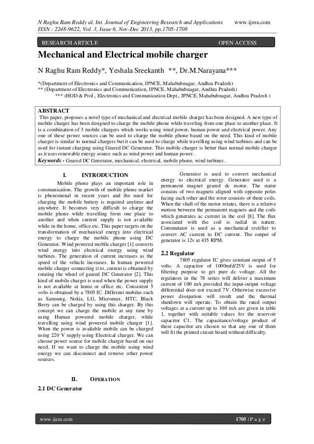 N Raghu Ram Reddy al. Int. Journal of Engineering Research and Applications ISSN : 2248-9622, Vol. 3, Issue 6, Nov-Dec 201...