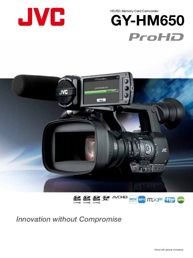 HD/SD Memory Card Camcorder                          GY-HM650                                                             ...