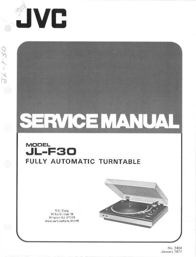 jvc nx f30 manual