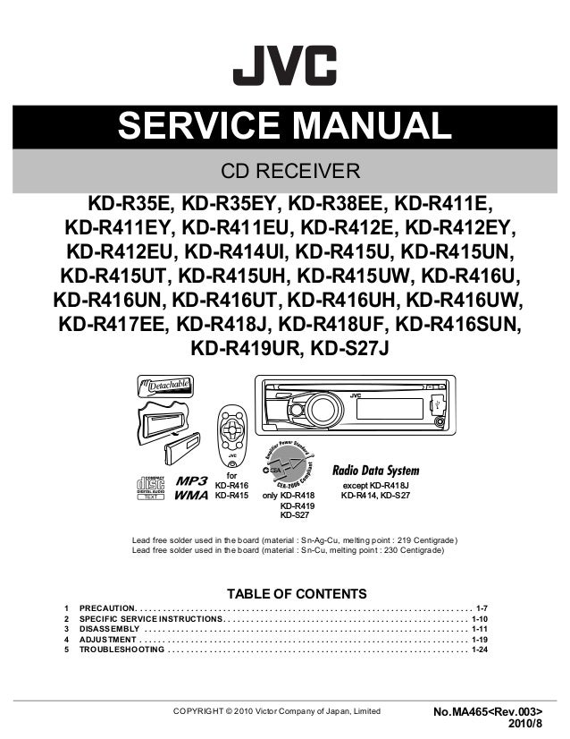 jvc car stereo kd s27 manual trusted wiring diagrams u2022 rh 66 42 81 37 jvc kd-s24 manual