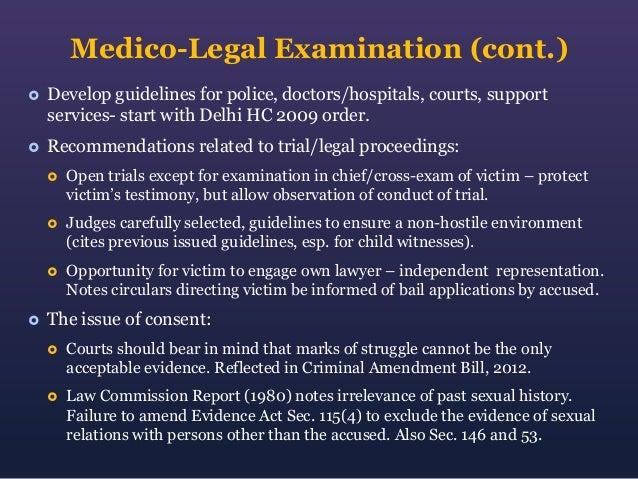 9. Medico-Legal ...