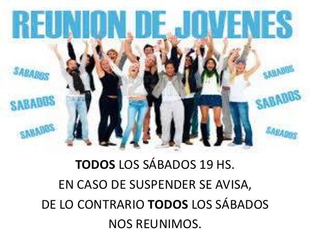 TODOS LOS SÁBADOS 19 HS.EN CASO DE SUSPENDER SE AVISA,DE LO CONTRARIO TODOS LOS SÁBADOSNOS REUNIMOS.