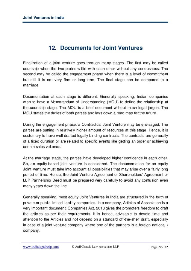 Joint ventures in india options regulations and restrictions for f joint ventures spiritdancerdesigns Images