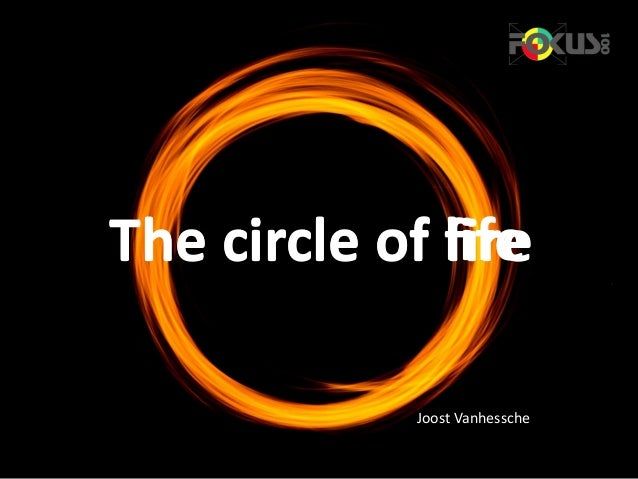 The circle of lifeThe circle of fire Joost Vanhessche