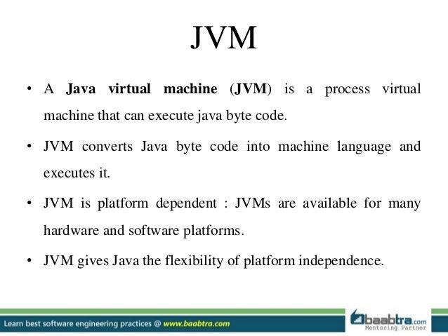 java machine interpreter