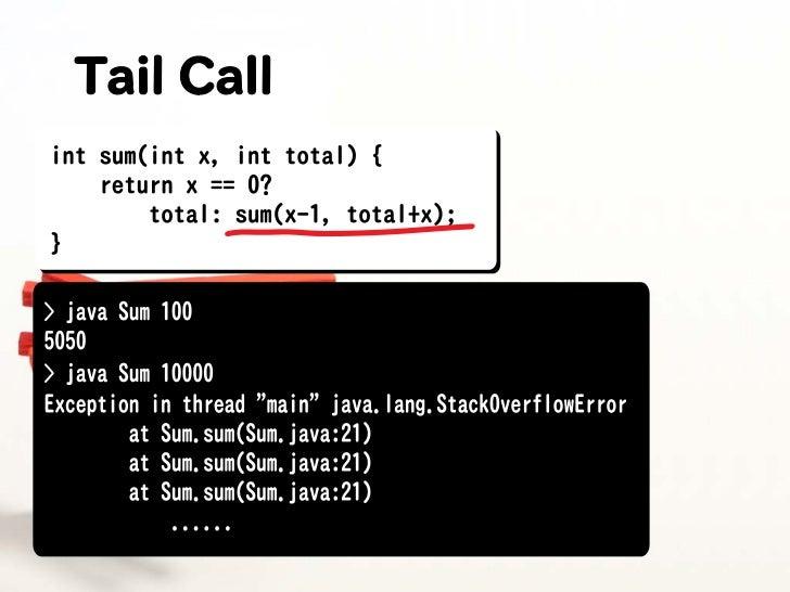 Java VM as Stackmahine